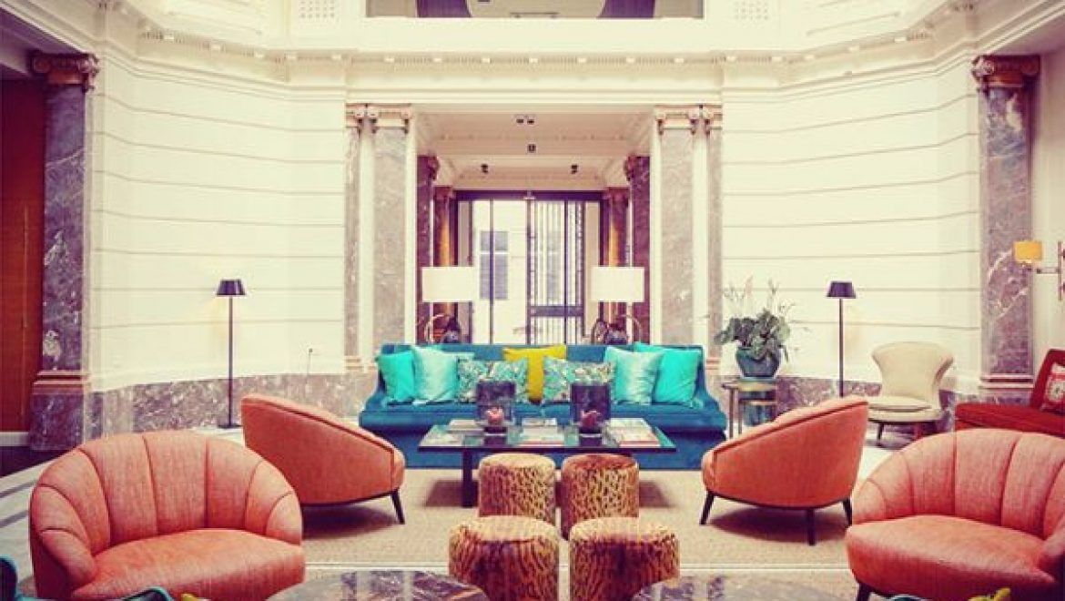 Hotel Franq, the secret must-see passage between trendy classicism and traditional modernism